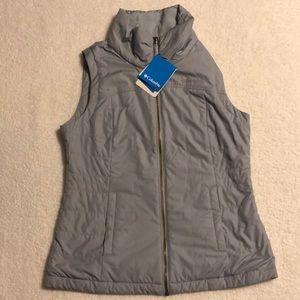 Columbia grey winter/fall vest